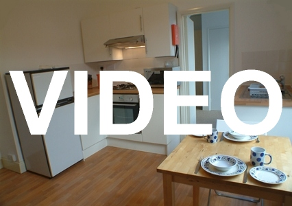 Video of 1-bed student flat in Plymouth. £130/week